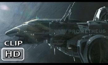 "Prometheus Movie Clip ""The Landing """